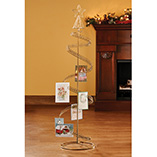 Home Décor - Spiral Christmas Tree Card Holder