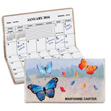 Home Office - Butterfly Personalized Pocket Planner