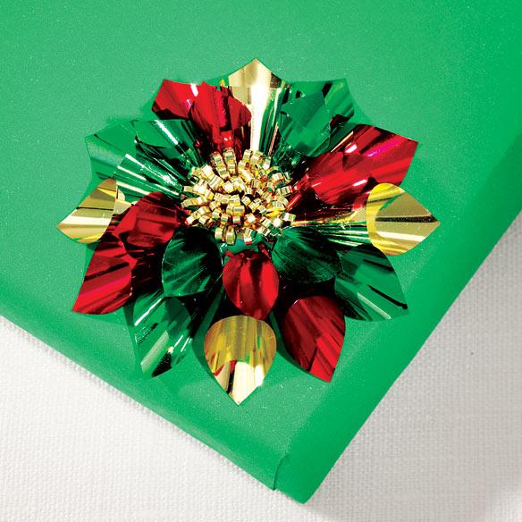 Christmas Flower Bows