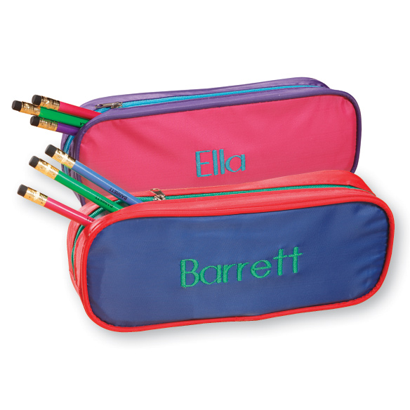 Personalized pencil case personalized pencil bag miles kimball