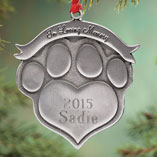 Ornaments - Personalized Pet Memorial Ornament