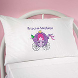 Children's Gifts & Leisure - Personalized Princess Pillowcase
