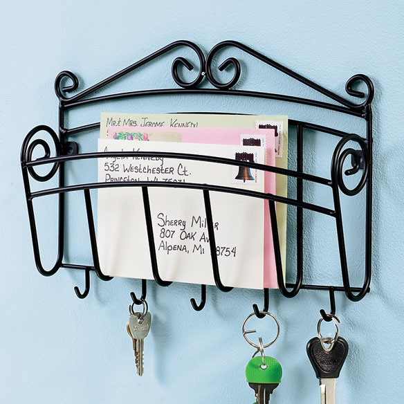 Mail and Key Wall Rack