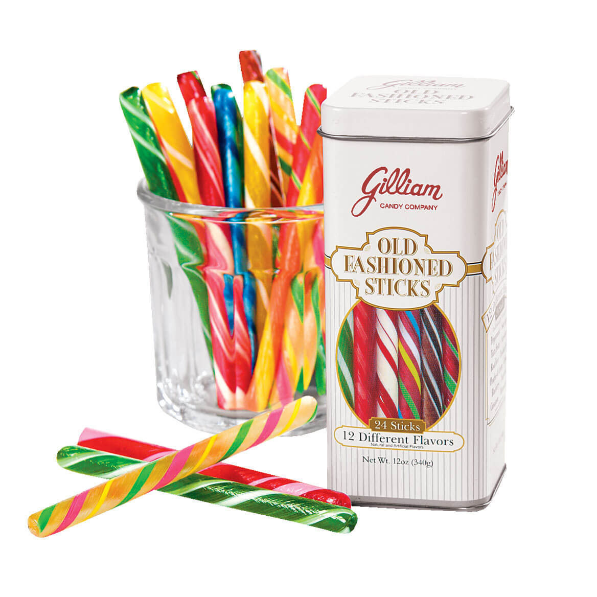Old Fashioned Candy Sticks - Old Fashioned Stick Candy - Miles Kimball