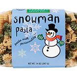 Soups & Pastas - Snowman Shaped Pasta 14 oz.