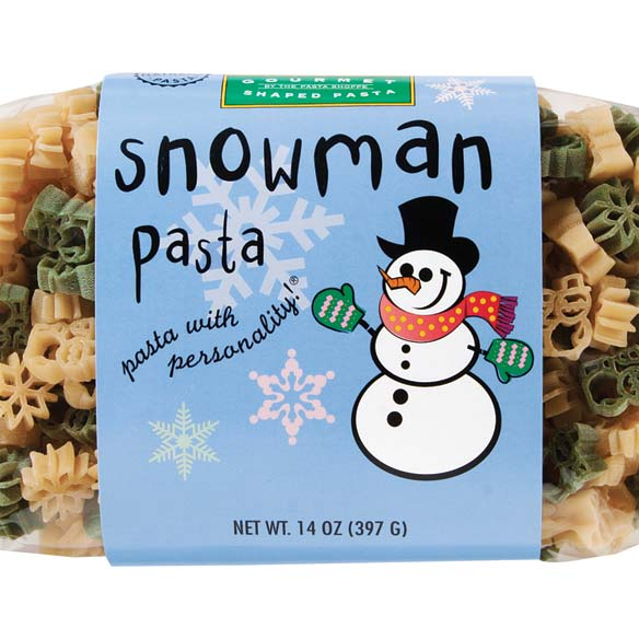 Snowman Shaped Pasta 14 oz.