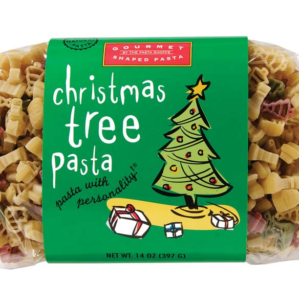 Christmas Tree Shaped Pasta 14 oz.