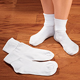 Apparel & Jewelry - Cotton Anklet Socks - 3 Pair