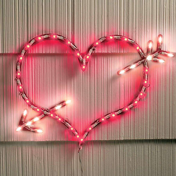 Lighted Valentine Heart
