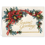 Nature Inspired - Personalized Seasons Greetings Cards