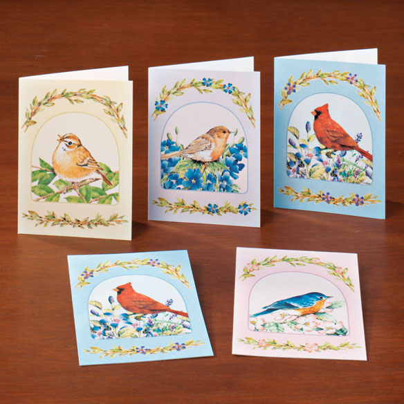 Song Bird Greeting Card Assortment