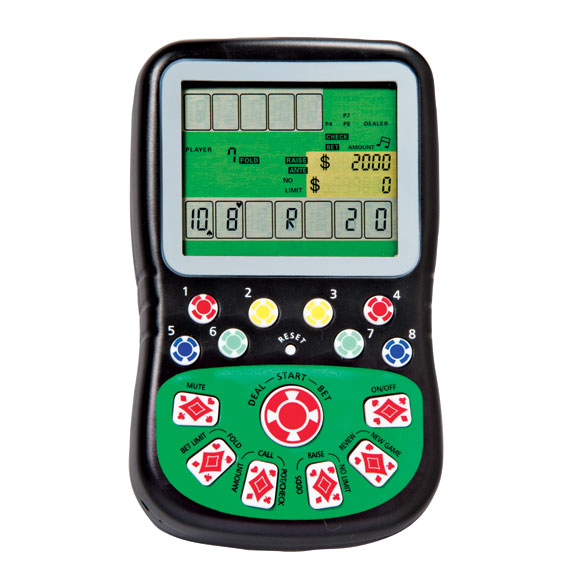 Handheld Texas Hold 'Em Game