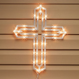 Easter - Lighted Cross