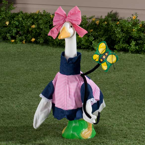 Girl Spring Goose Outfit