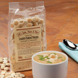 Holiday Treats - Luncheon Loaded Potato Soup Mix & Crackers
