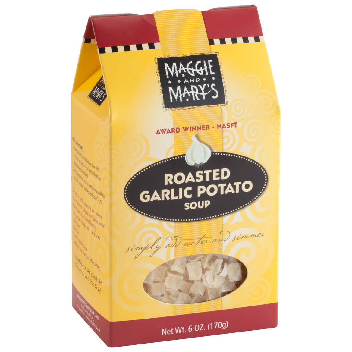 Roasted Garlic Potato Soup Mix