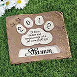 Pet Toys & Supplies - Personalized Pet Memorial Stones