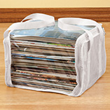 Storage & Organization - Magazine Storage Bags - Set Of 3