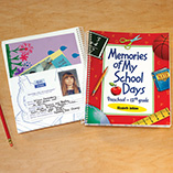 Children's Gifts & Leisure - Personalized School Days Book