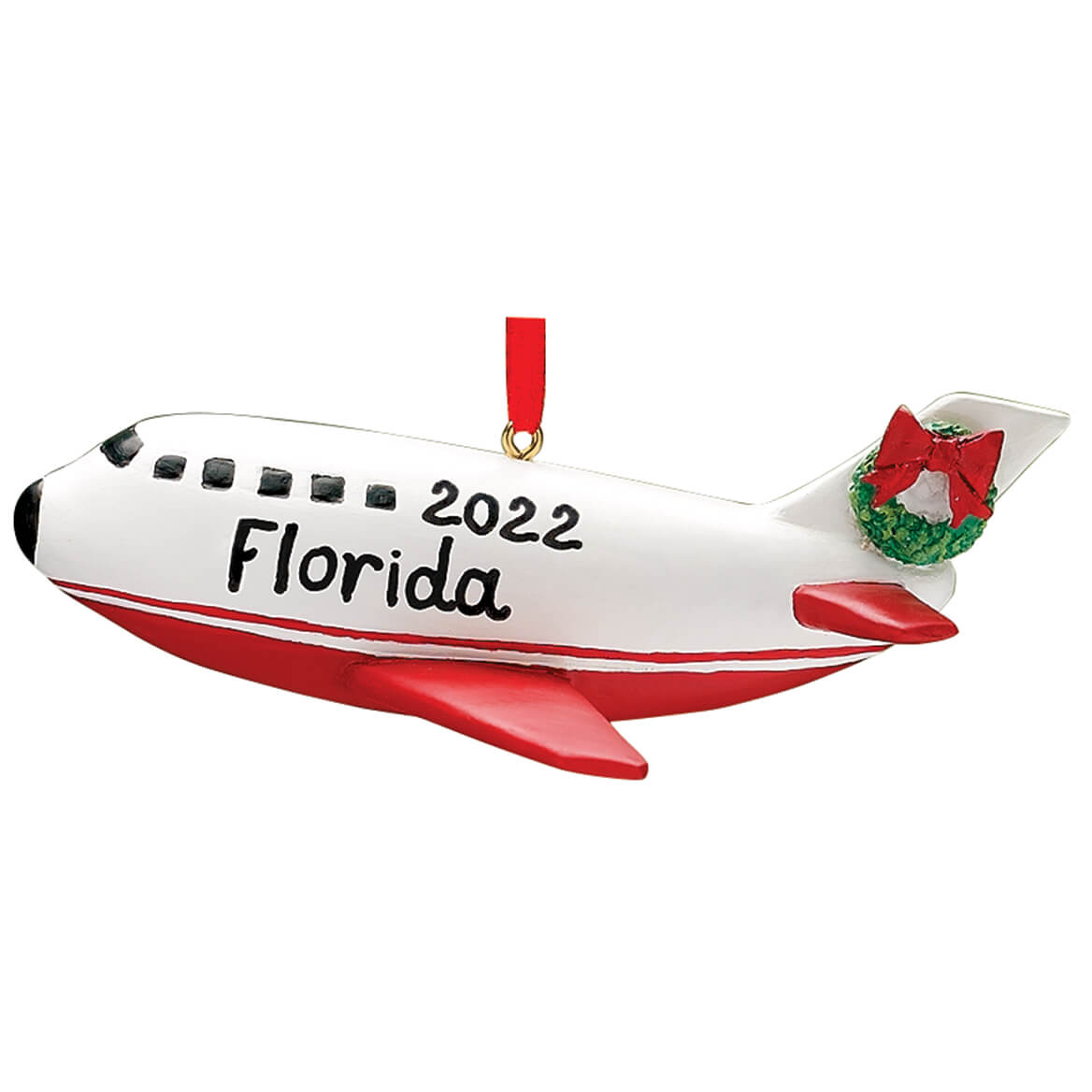 Personalized Airplane Ornament-325129