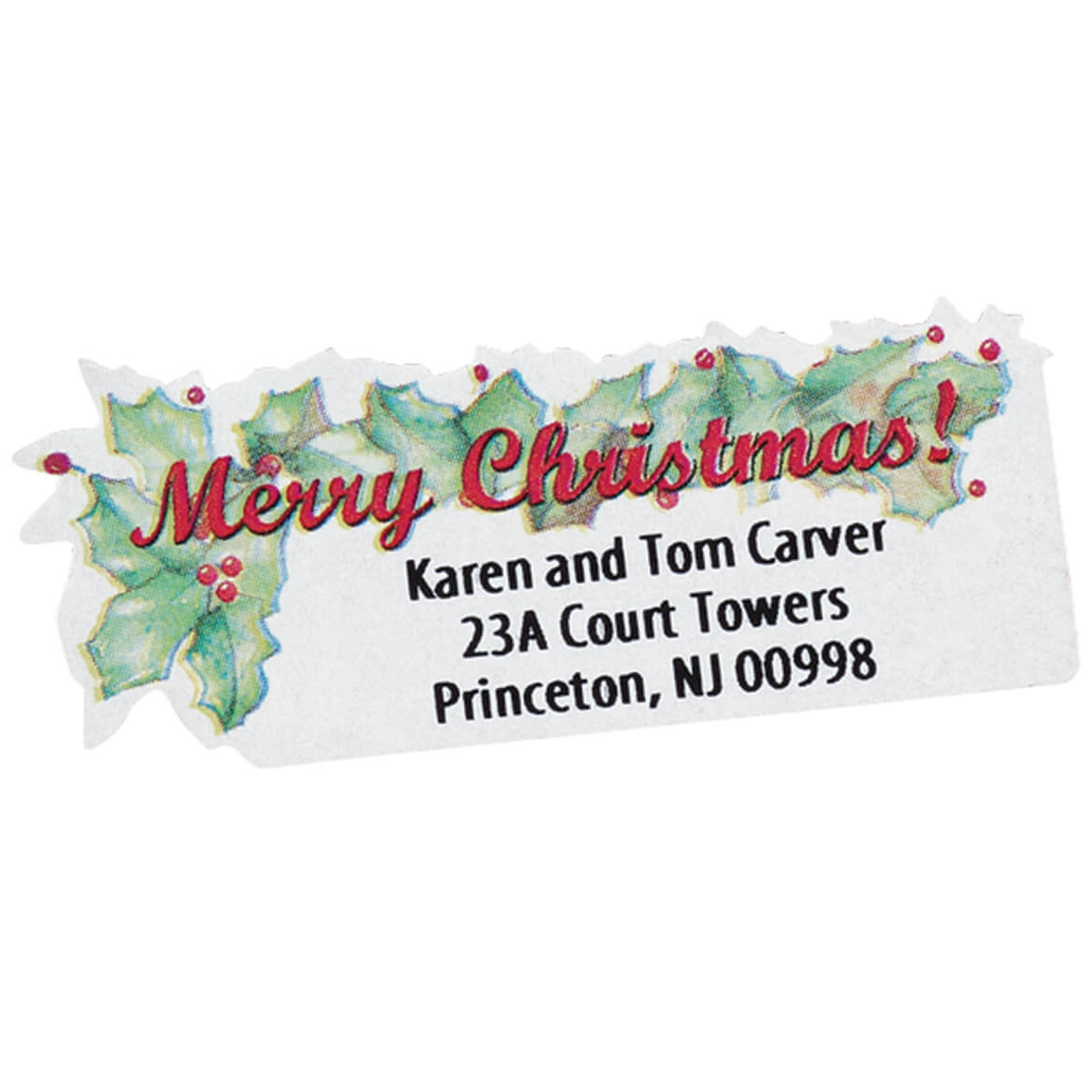 Merry Christmas Labels.Merry Christmas Labels Set Of 250