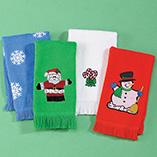 Calendar Towels & Linens - Christmas Hand Towels Set of 4