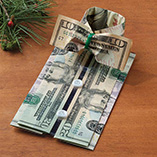 Santa Letters & Childrens Gifts - Money Origami Shirt