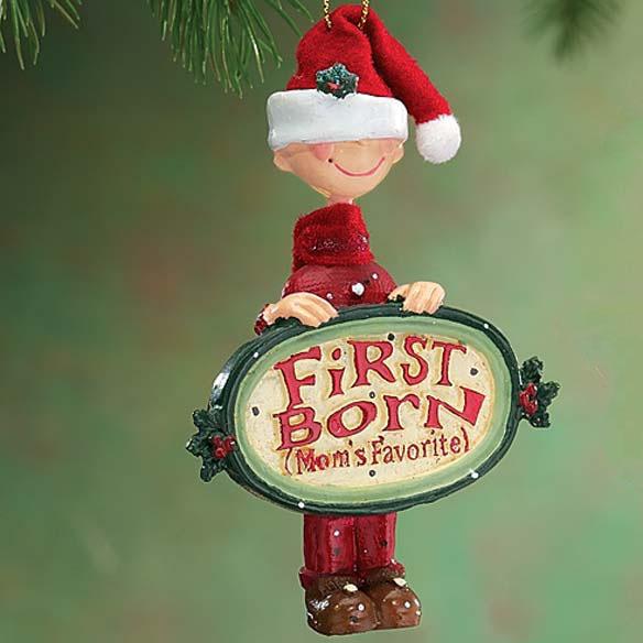 Mom's Favorite Child Ornament