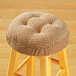 Raindrops Bar Stool Cushions