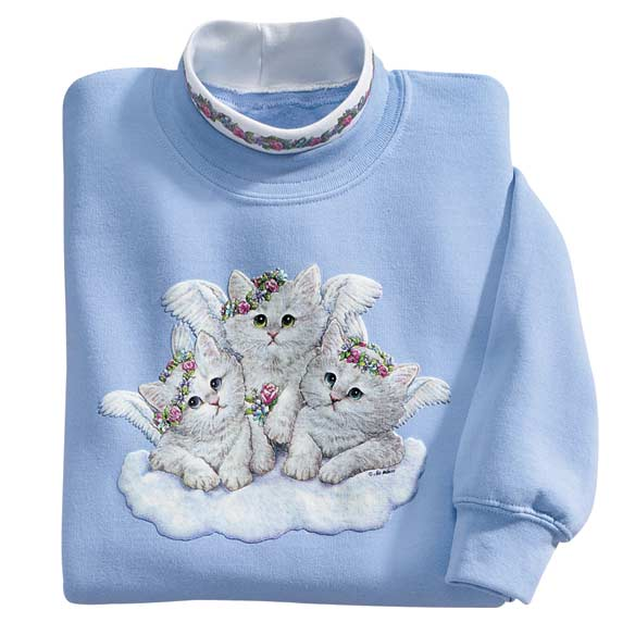 Angel Kittens Sweatshirt