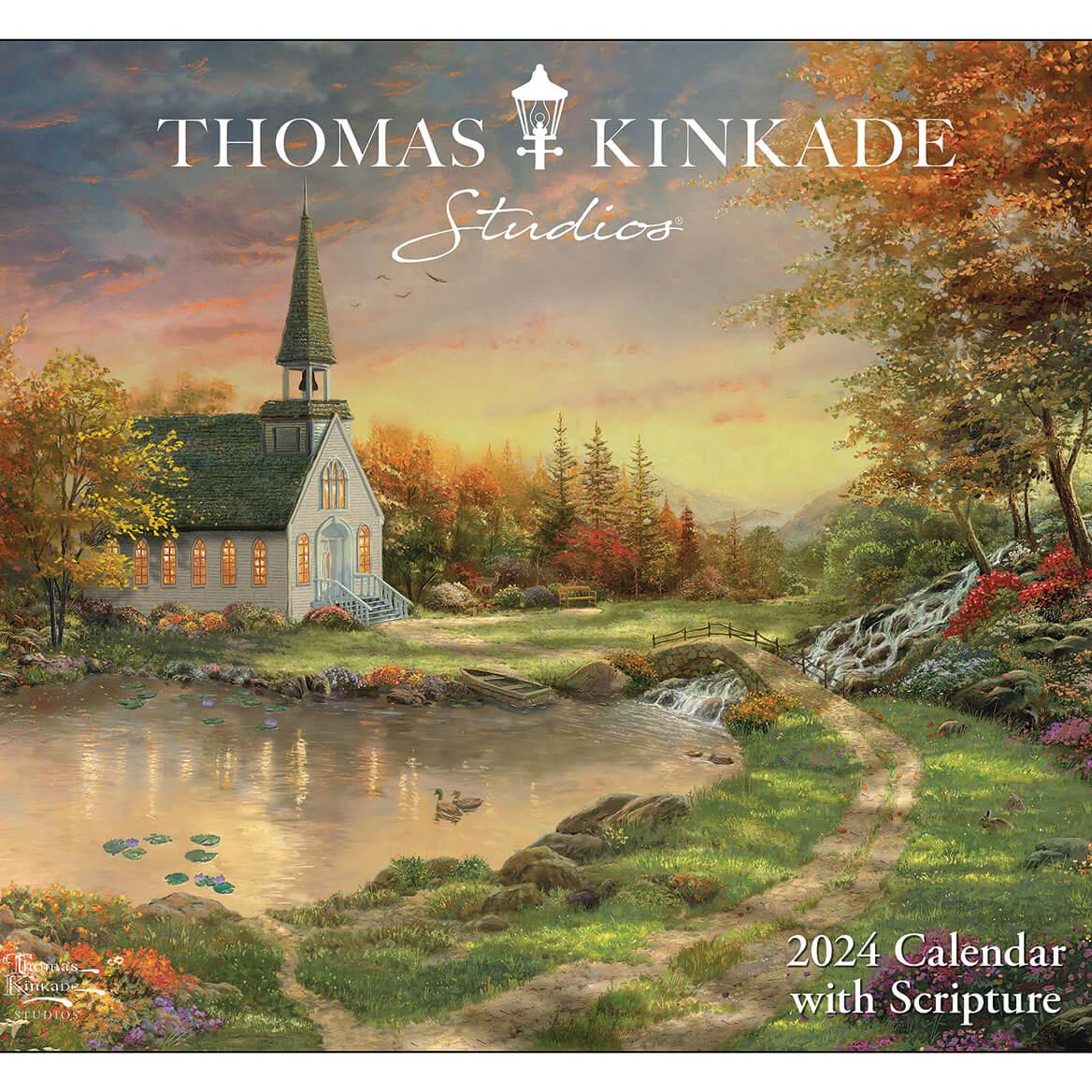 Thomas Kinkade Scripture Wall Calendar-325667