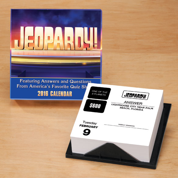 Jeopardy 365 Day Calendar
