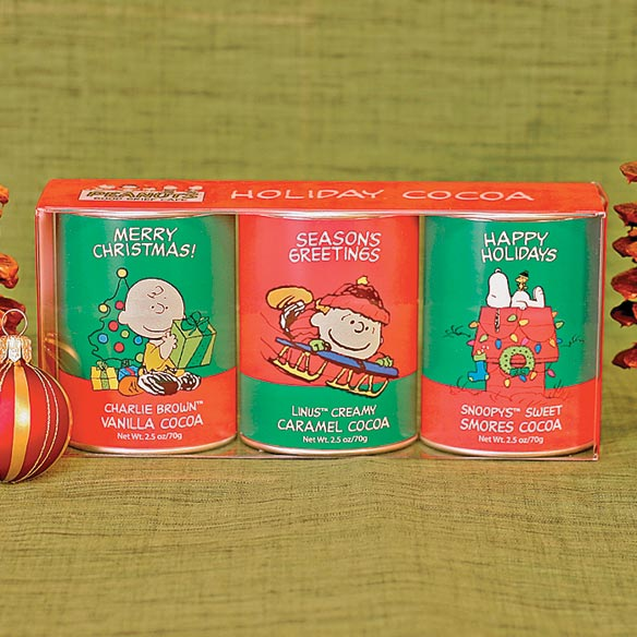 Peanuts (R) Hot Cocoa Tins Gift Set