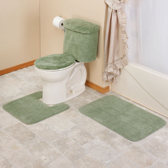 Bathroom toilet tank covers