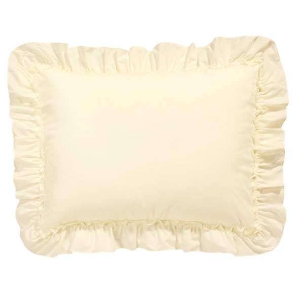 Ruffled Pillow Sham