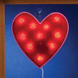 Valentines Day - Valentine Shimmer Heart Light