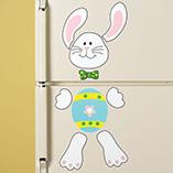 Easter - Bunny Refrigerator Magnet Set