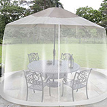 9' Umbrella Table Screen from Collections Etc.