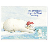 Nature Inspired - Arctic Friends Christmas Card Set of 20