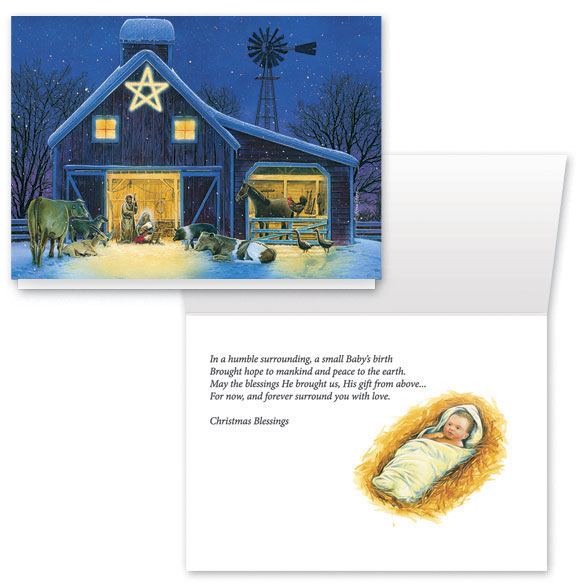 Christmas Eve Christmas Card Set/20