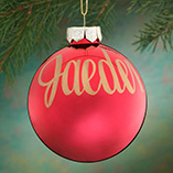 Personalized Name OR Date Painted Ornament