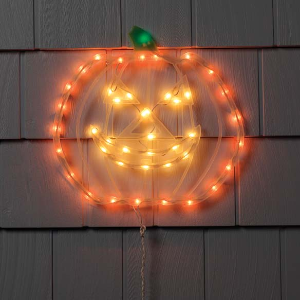 Lighted Pumpkin
