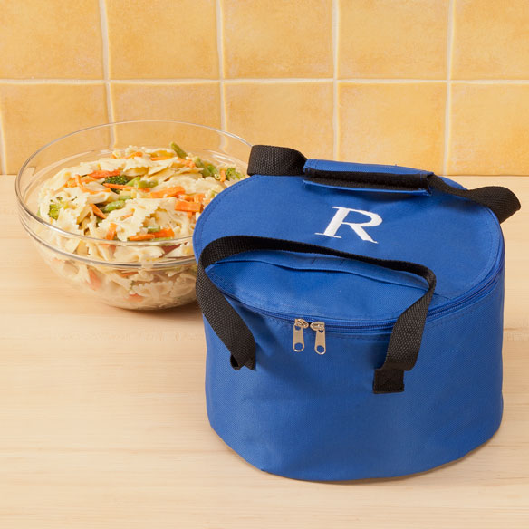 Personalized Round Casserole Carrier
