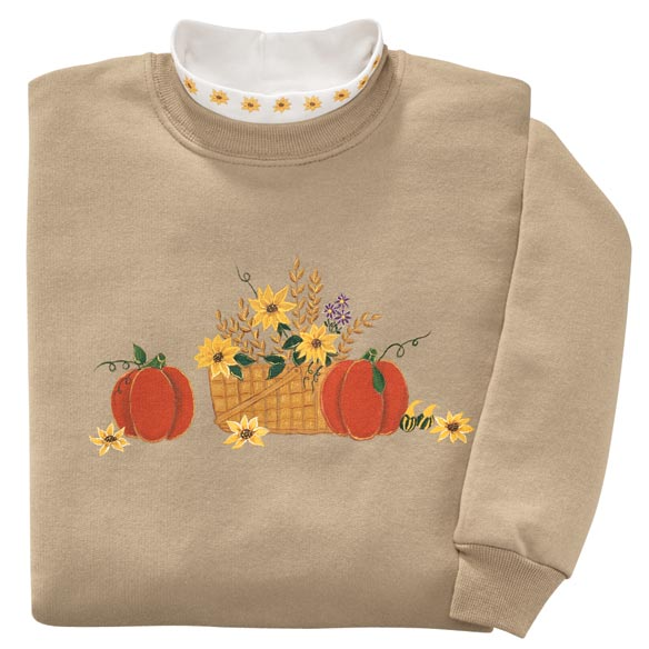 Harvest Basket Sweatshirt