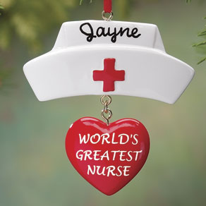 Personalized Nurse Ornament