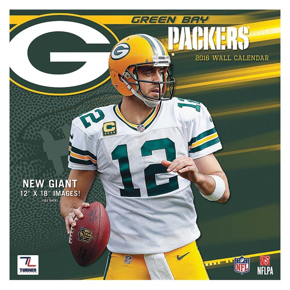 NFL Wall Calendar - View 1