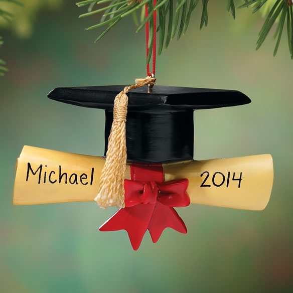 Personalized Graduation Cap Ornament