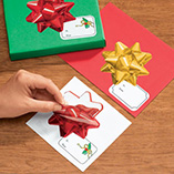 Wrapping & Gift Giving - Bow Gift Labels