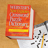Games & Puzzles - Webster's New Explorer Crossword Puzzle Dictionary