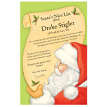 Santa Letters & Childrens Gifts - Personalized Santa's Nice List Certificate